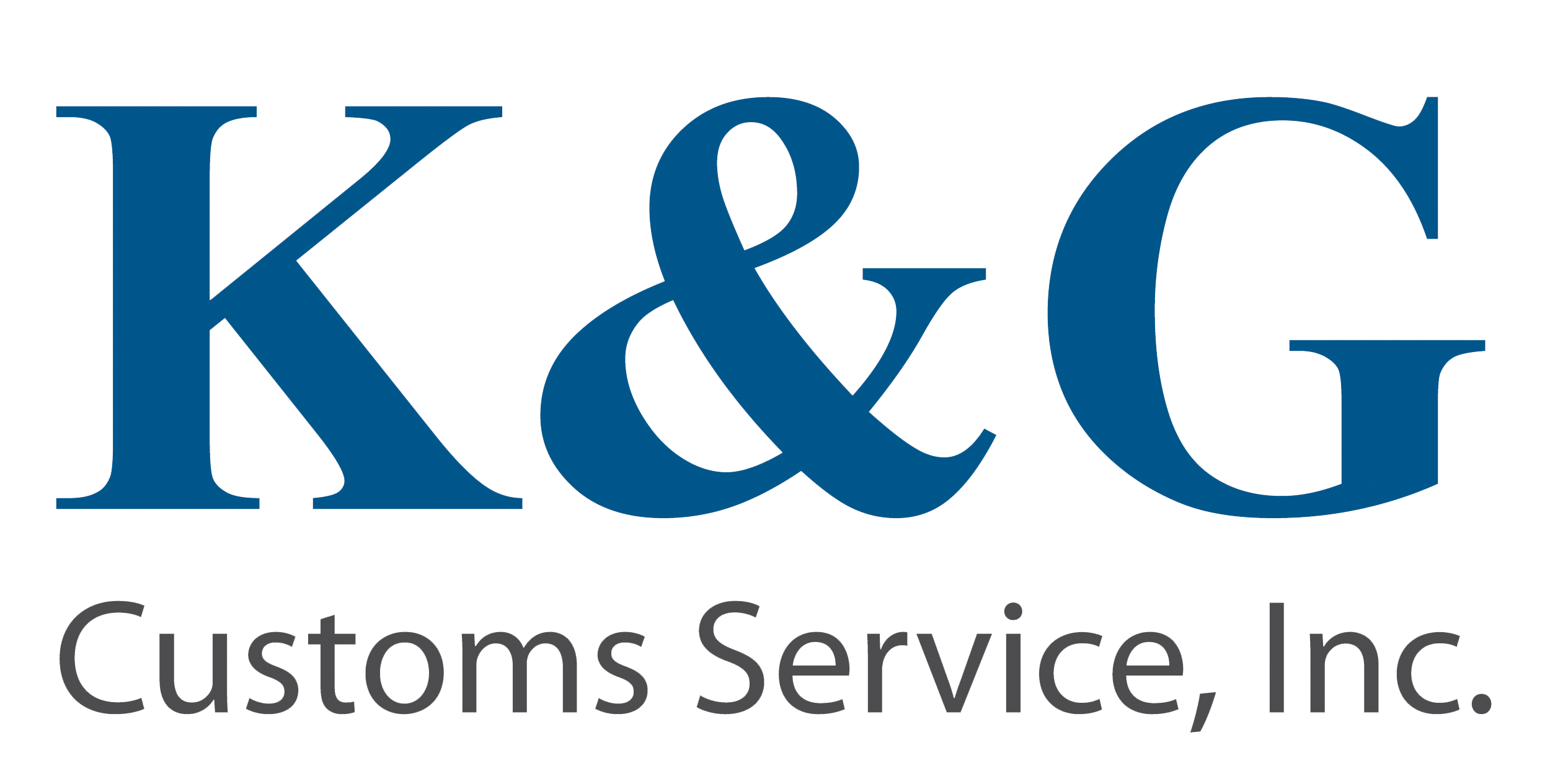 K&G CUSTOMS SERVICE INC